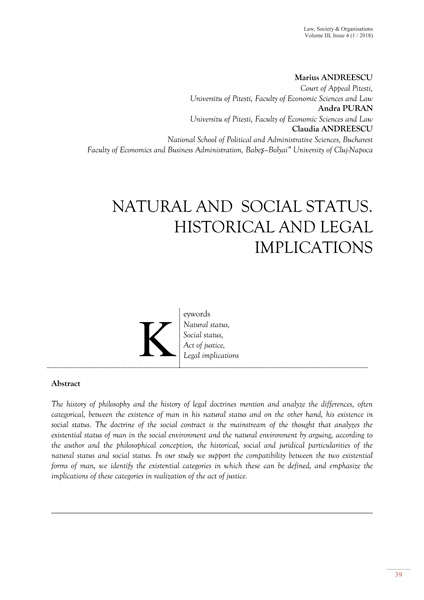 Volume III, Law, Society & Organisations